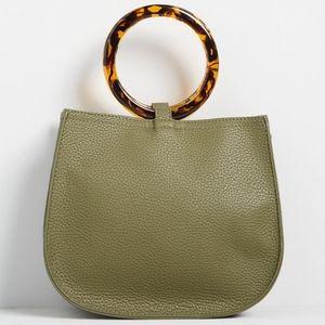 Pretty Portage Olive Crossbody Bag